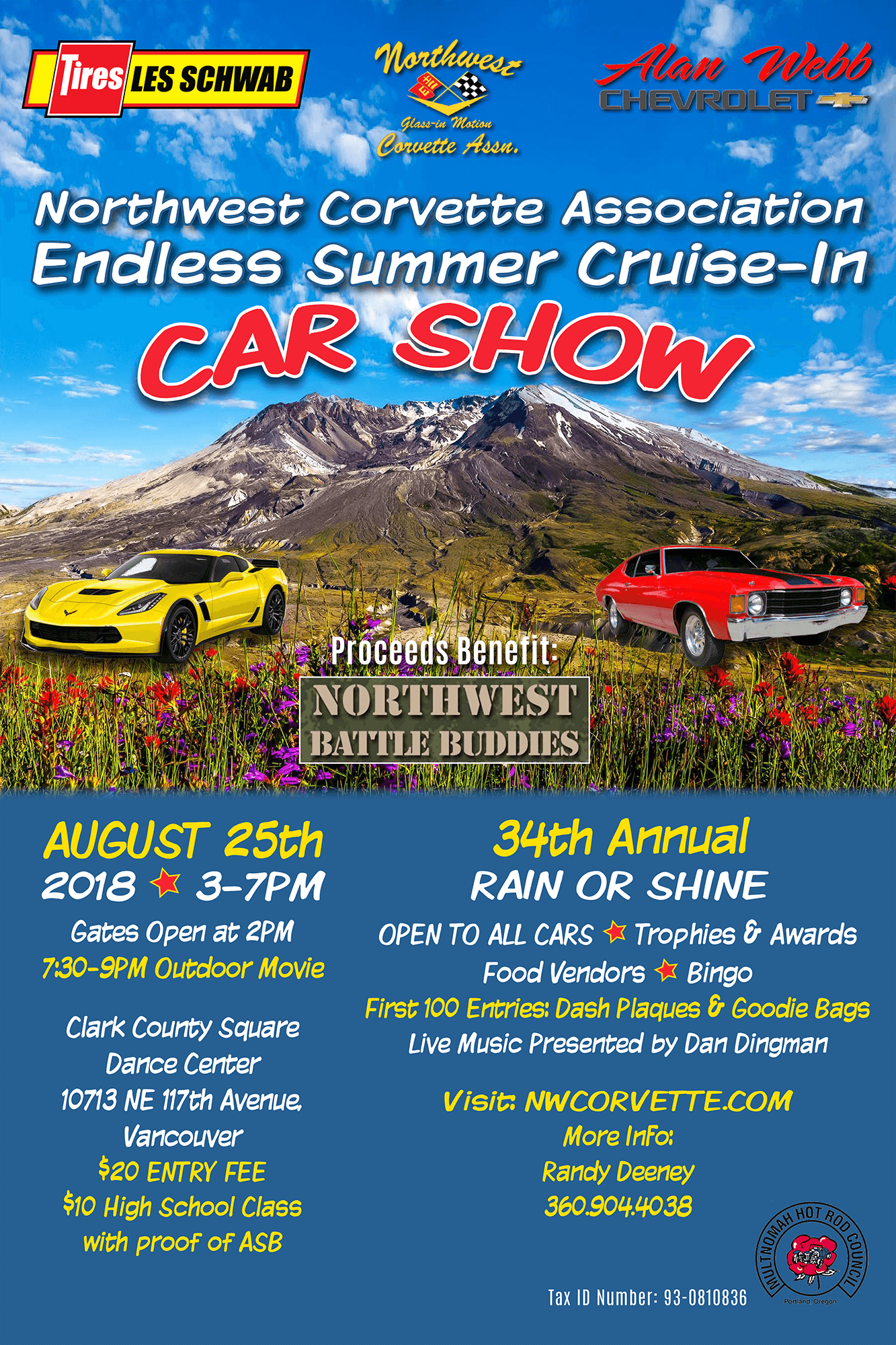 2018 NWCA Cruise In Poster FINAL